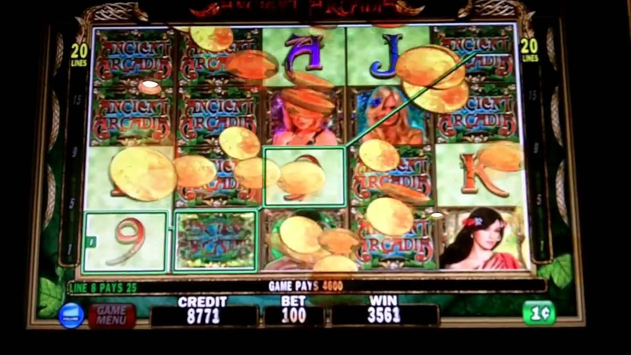 Ancient arcadia slot machines palace indian gaming casino