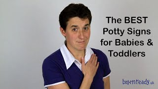 How to: Baby Signing Potty Sign (Born Ready, Makaton, ASL, BSL)
