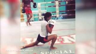 Viktoryia Gameeva is fighting fit if...