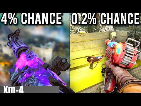 Top 15 RAREST ITEMS In Cold War Zombies!