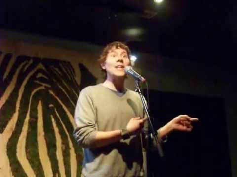 Poet Jon Sands @ Mike Geffner's Inspired Word NYC Spoken Word Poetry Event