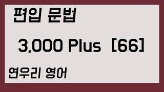 편입 문법 3,000 Plus66