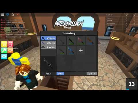 How To Get The 1000 Degree Knife On Assassin Roblox Code Youtube