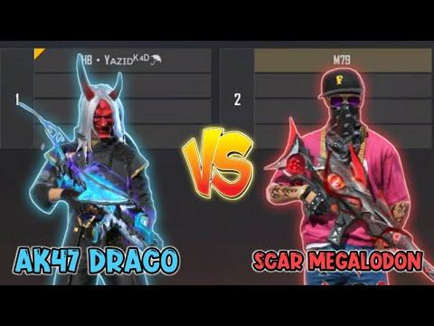 scar-megalodon-vs-ak47-draco👽