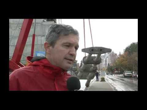 Removieron las torres de líneas eléctricas de la calle Dr. Ramón