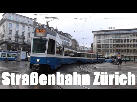 Straßenbahn Zürich (inkl. Forch-/Glattalbahn) 2017
