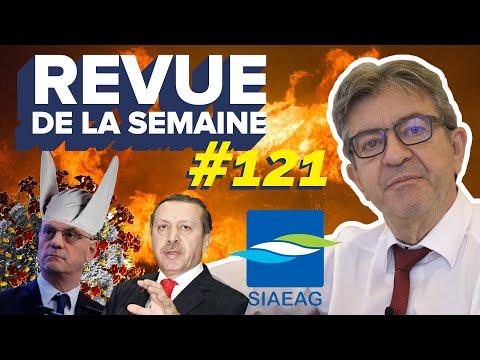 #RDLS121 - Sécurité, Covid19, écoles fermées, eau en Guadeloupe, incendies, tensions en Méditerranée