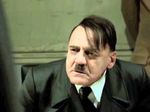 Hitler Reacts To Patriots Beating The Broncos In 2012 NFL Playoffs