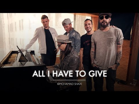 Backstreet Boys  All I Have To Give Acoustic  on BBC Radio 2