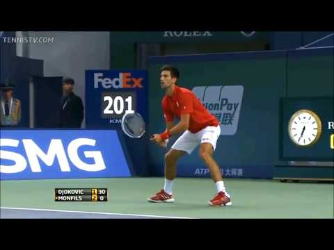 28 - Djokovic vs Monfils - QF Shanghai 2013 - full match
