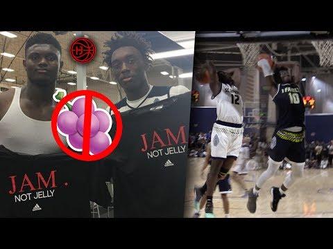 JAM over JELLY🍇 ? JAM FAM Nassir Little & Zion Williamson ELITE MATCHUP!