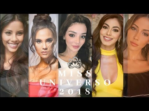 Favoritas A La Corona De Miss Universo 2018 Top 10 Youtube