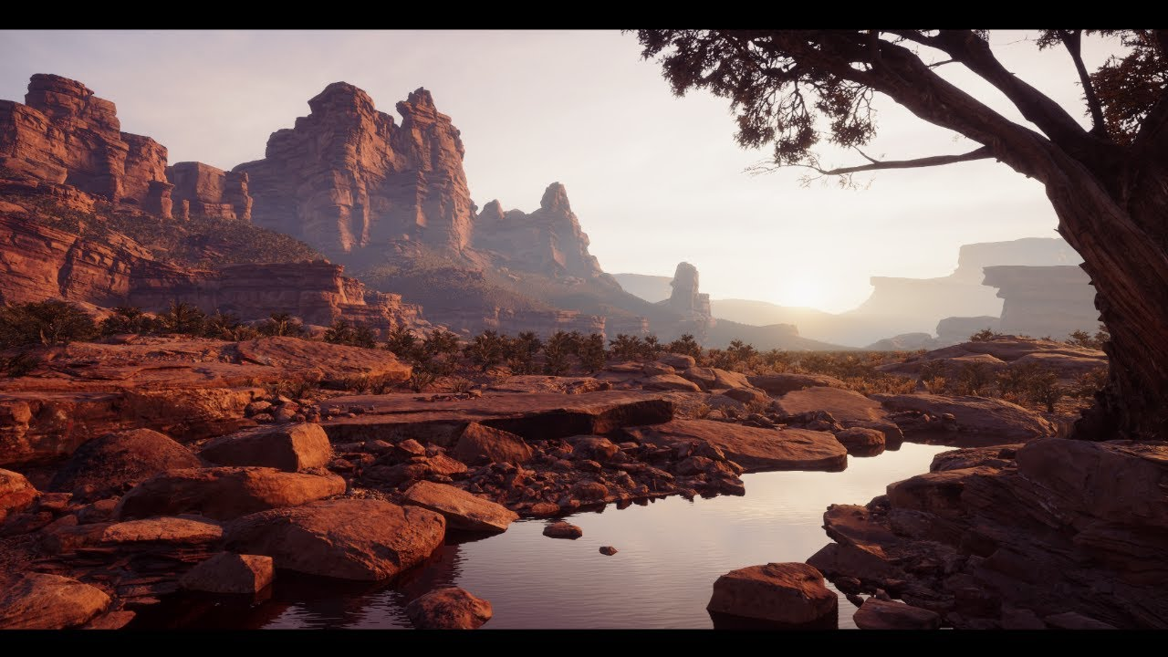 Photorealistic Desert in Unity HDRP | Castle Valley Collection
