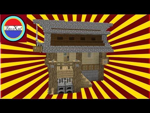 Minecraft een groot houten huis maken nederlands deel 1 for Vloerplan maken