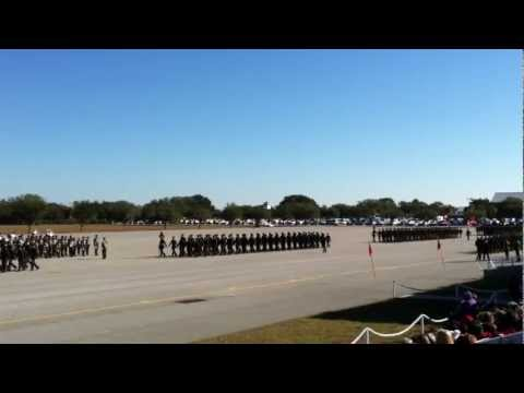 MCRD Parris Island Graduation - All platoons pass the viewing stand