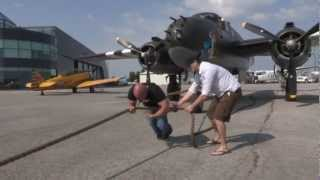 America's Got Talent strongman pulls plane (World Record)
