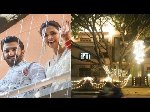 Deepika Padukone Bangalore House Decorated For Wedding Reception