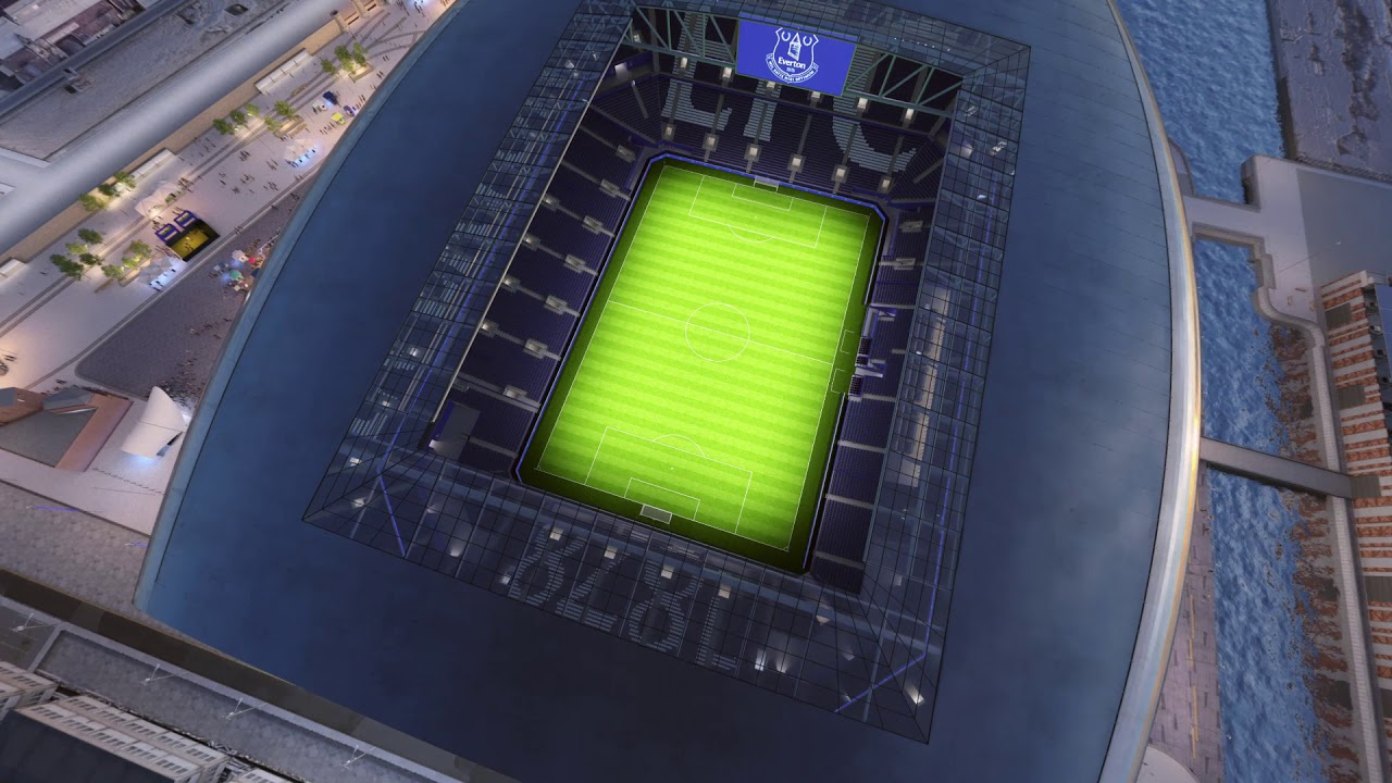Everton Stadium Reveal Youtube