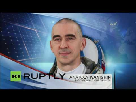 LIVE: Expedition 48 lifts off for Space Station