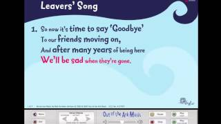 Leavers' Song - Words on Screen™ Original - Leavers Assemblies School Songs