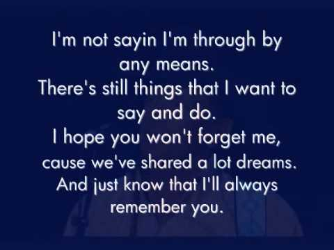 George Strait - I'll Always Remember You (Lyrics)