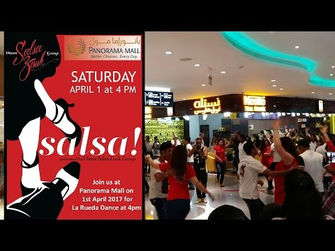Salsa Dance performance at Panorama Mall Muscat, Oman (بانوراما مول مسقط عمان )