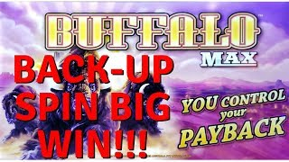 I CAN'T STOP WINNING!  BACK-UP SPIN BONUS AFTER HAND-PAY - 75 FREE GAMES BUFFALO MAX SLOT POKIE PALA