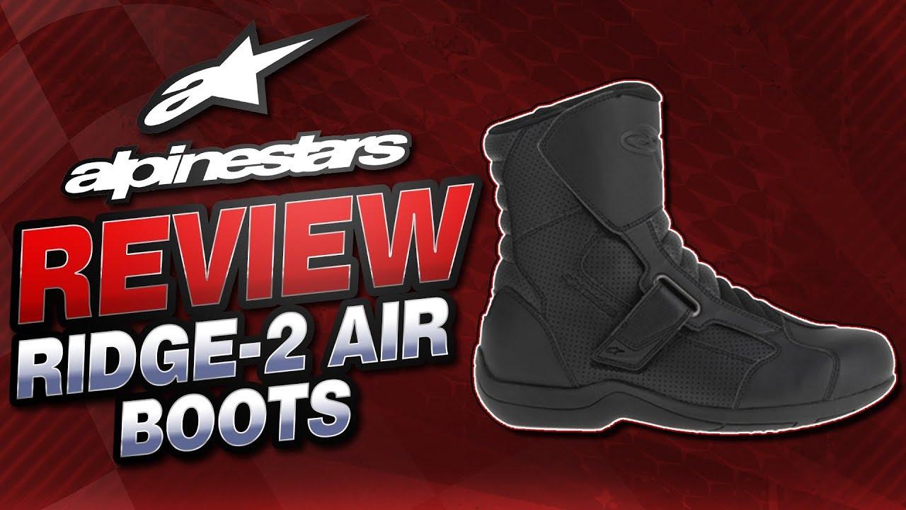 45 Alpinestars Ridge-2 Air Mens Motorcycle Riding Boots