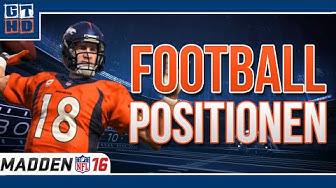 American Football Positionen erklärt + Madden NFL-Tipps