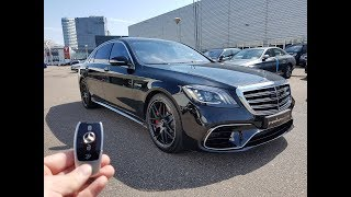 INSIDE the Mercedes-AMG S63 S Class 2017 | New In Depth Review Interior Exterior SOUND
