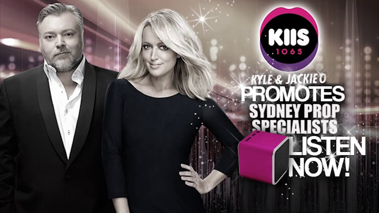 Sydney Props On Kyle And Jackie O Kiis Fm 1065 Youtube