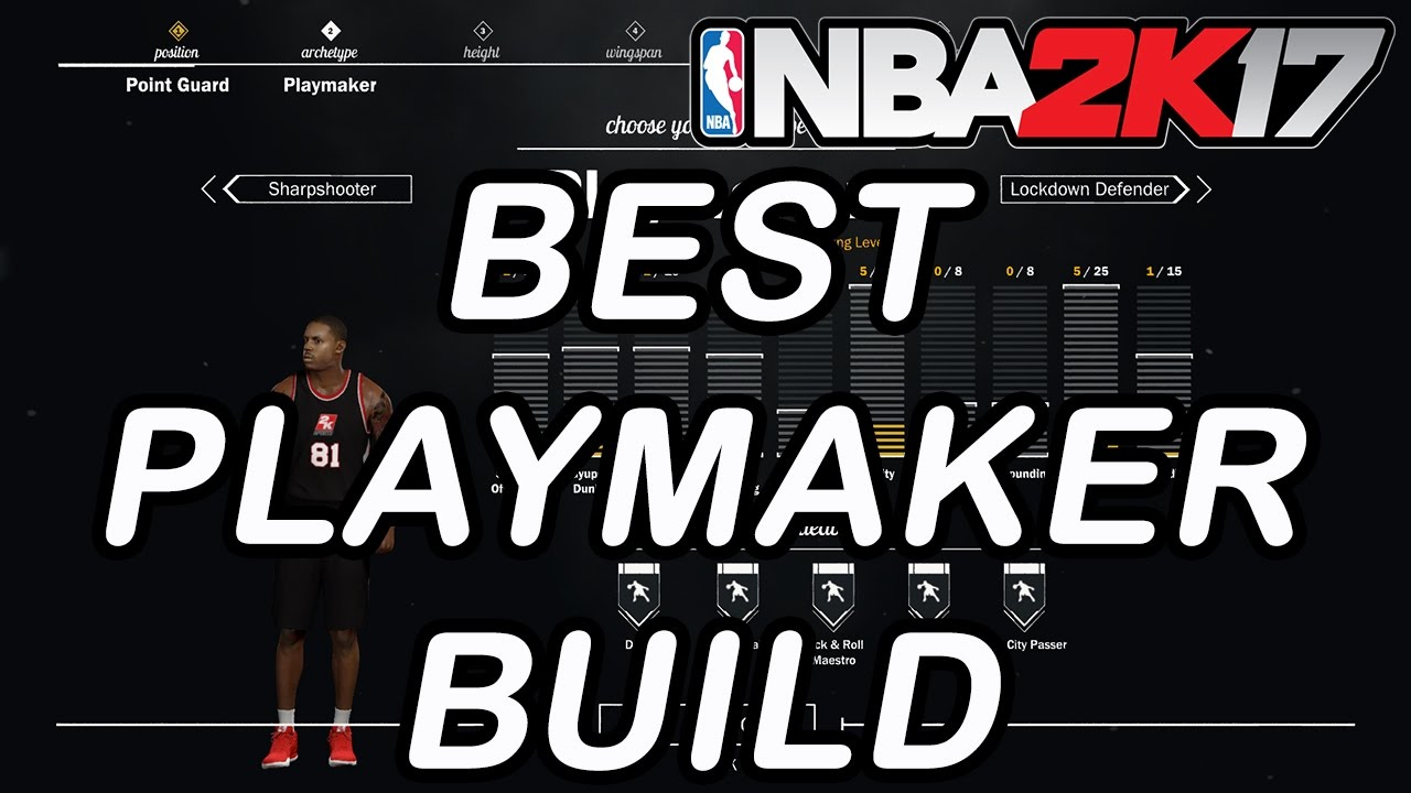 nba 2k17 how to play as playmaker