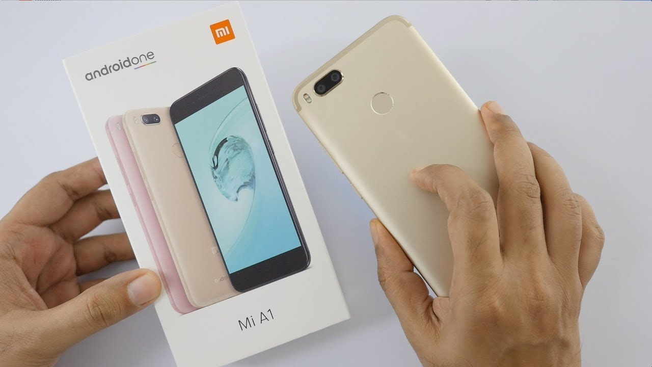 Xiaomi Mi A1 Xiaomi Mi A1 Android One Smartphone Unboxing Overview
