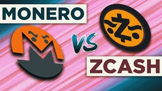 MONERO VS ZCASH. На Секретной Службе Анонимности