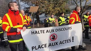 Manifestation contre la réforme des retraites, mardi 10 décembre à Tours