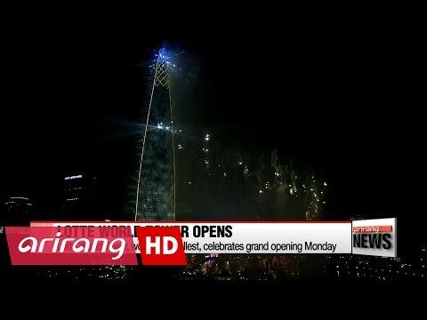 Lotte World Tower celebrates grand opening