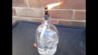 Make Your Own Tiki Torch Light Bottle