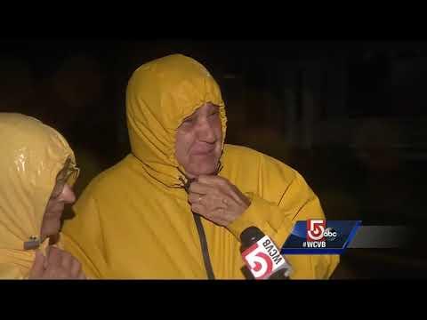 'It's brutal out here.' Ferocious winds batter Martha's Vineyard
