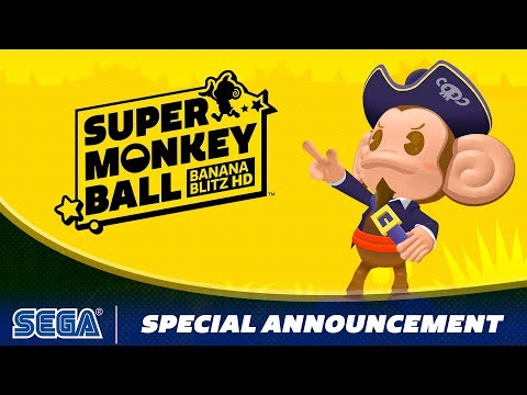 Sonic confirmed for Super Monkey Ball: Banana Blitz HD