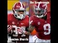 "Damien Harris & Bo Scarbrough || ""The Duo"" || Alabama Highlights || 2016"