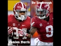 "Damien Harris & Bo Scarbrough || ""The Duo"" 