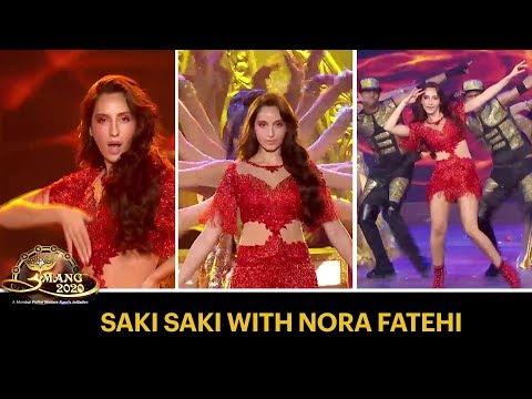 Saki Saki Girl, Nora Fatehi's Sizzling Performance | Umang 2020