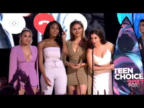 Fifth Harmony - Teen Choice Awards 2017 Winners