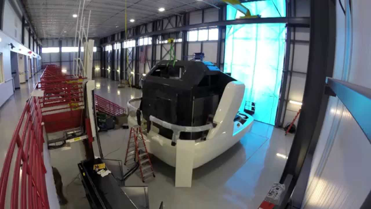 American Airlines A320 Simulator Installation Youtube