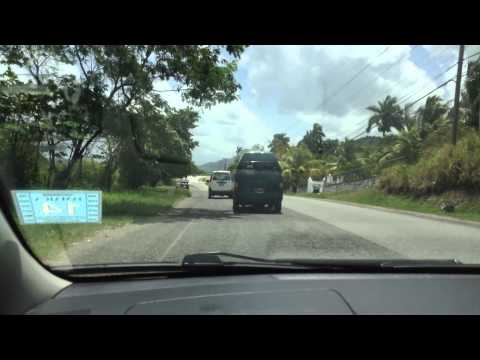 Tryall to Mobay drive - Jamaica 2014
