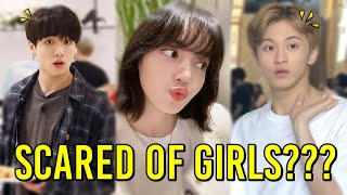KPOP IDOLS FUNNY AND AWKWARD INTERACTIONS YOU PROBABLY NEVER SAW | BTS, BLACKPINK, NCT, ATEEZ, TWICE