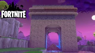 We build the Arc de Triomphe in the middle of the Mission! Fortnite Saving the World