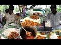 Hard Working Boy Roadside Unlimited Meals | Indian Street Food Videos | Food Bandi