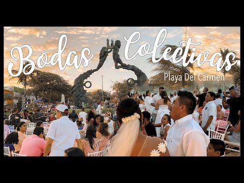 Playa Del Carmen 14 de FEBRERO 2020 BODAS COLECTIVAS/collective weddings@Elaine Cotbar