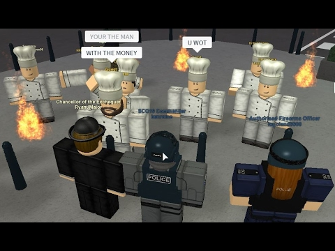 [Roblox London City] UK Police MPS SCO19 Public Disorder [part 1]
